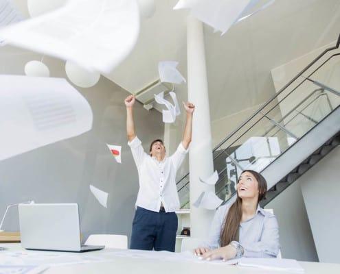 descobrir o prazer, o equilíbrio e a gratificação na sua vida profissional